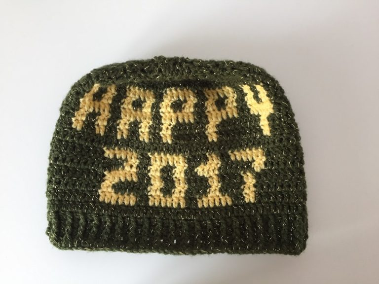 new year beanie