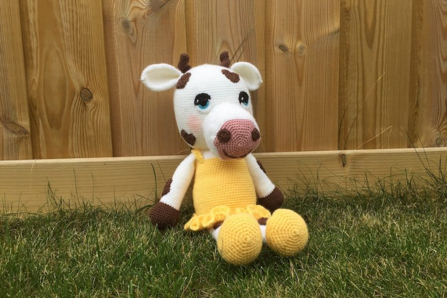 cow crochet pattern