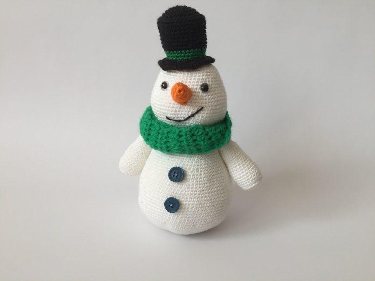 sneeuwpop haakpatroon