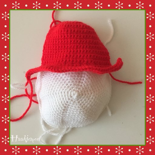 Christmas tree skirt crochet pattern snowman