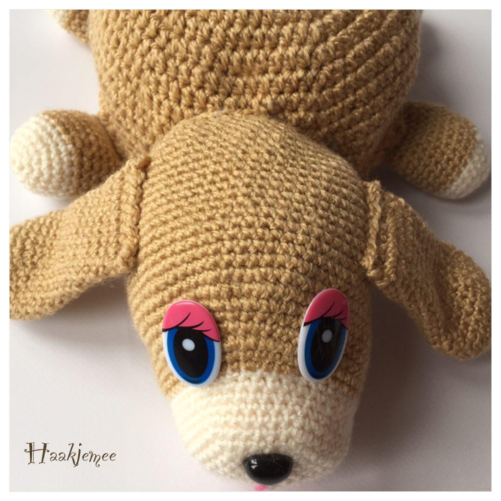 Flippable toy crochet pattern dog ears