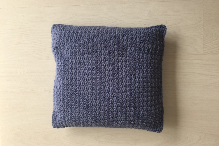 cushion crochet pattern