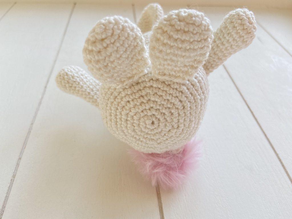 happy easter crochet pattern bunny feet
