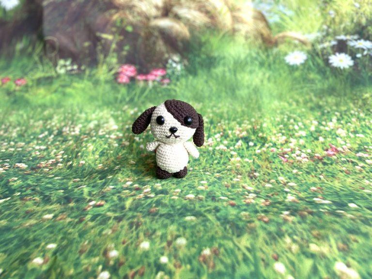 hond amigurumi haakpatroon