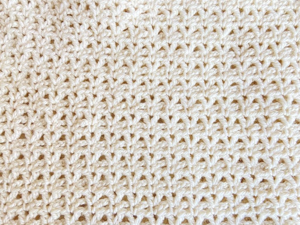 pocket shawl stitch