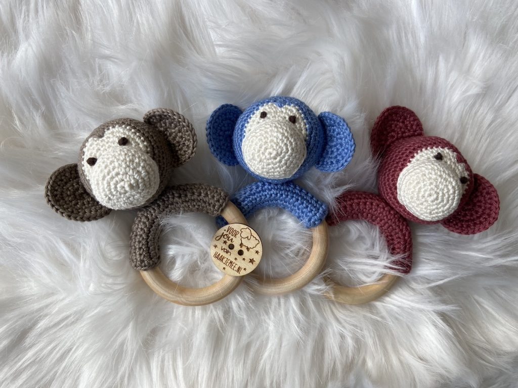baby bite ring crochet pattern