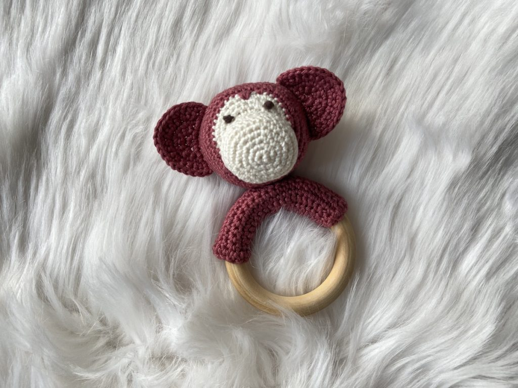 bite ring crochet pattern eyes
