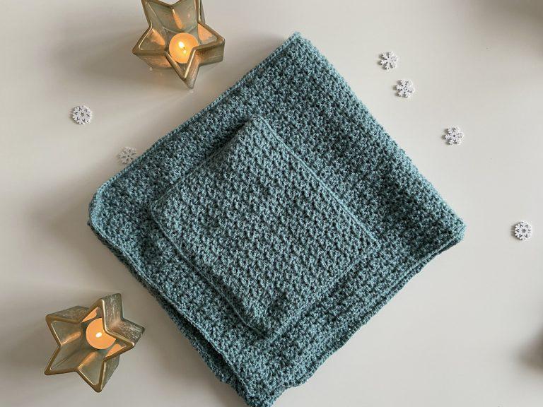pocket shawl haakpatroon