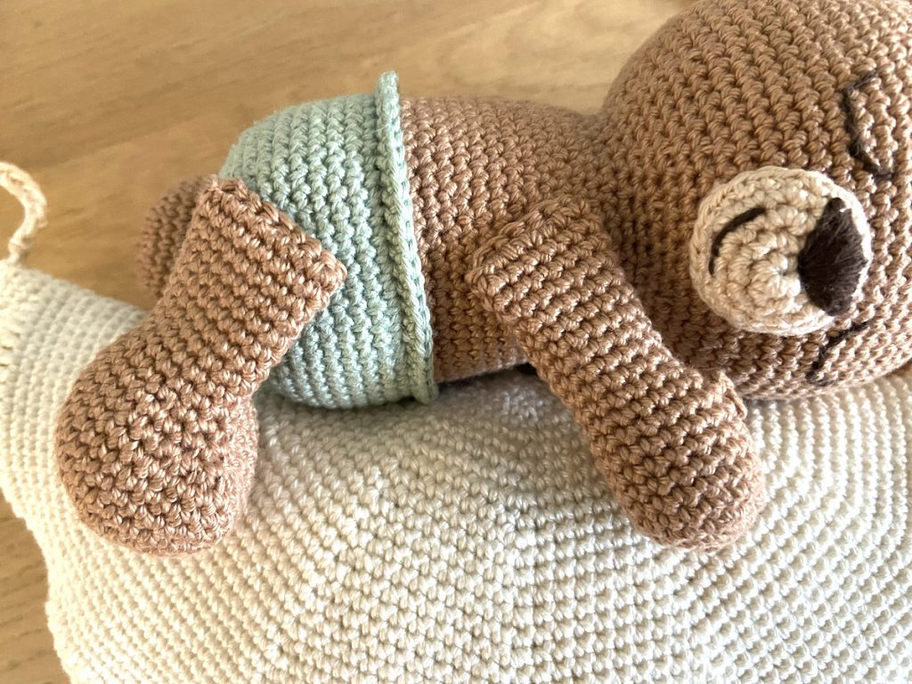 sweet dreams little bear crochet pattern arms and legs