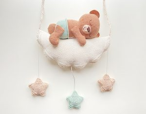 sweet dreams little bear crochet pattern