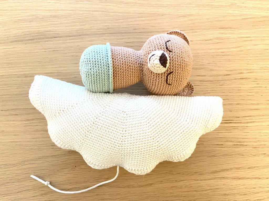 sweet dreams little bear haakpatroon wolkje
