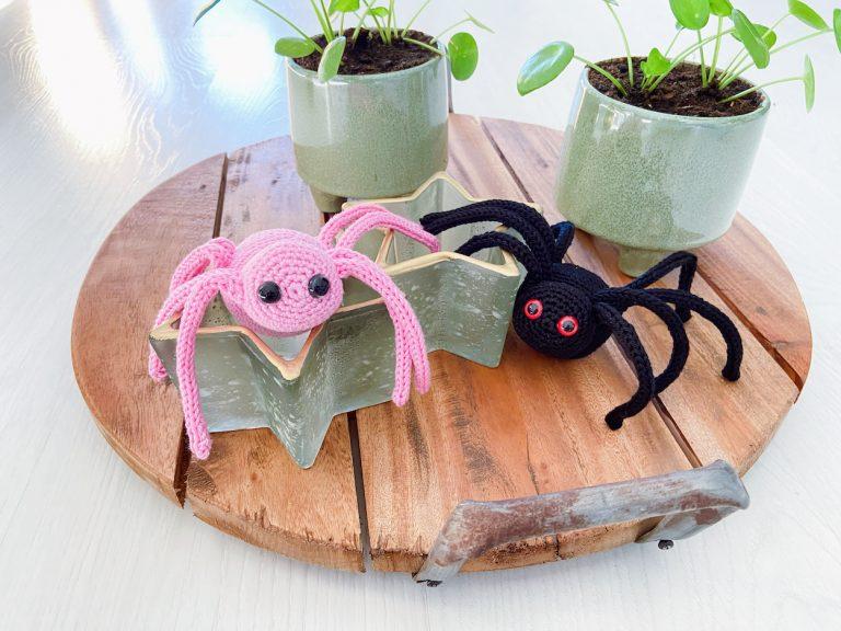little spider crochet pattern eyes