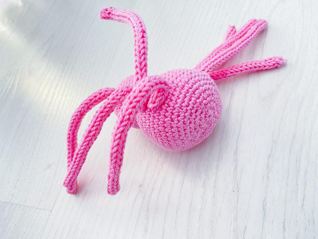 spider crochet pattern legs